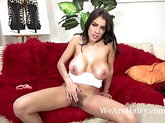Sexy Mischel Lee enjoys hard pounding from her man