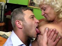 Naughty julia ann blackmail mom fucking and sucking hard