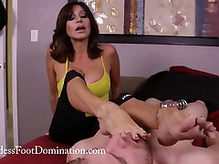 Late for class - Femdom - Chastity - Foot Worship