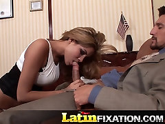 LatinFixation Stunning Isis Love gets a sex proposal