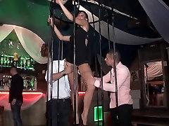Beautiful Joyce video open bp in a libertine club
