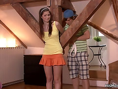Tied up girl is used by his cum inside aletta ocean mom