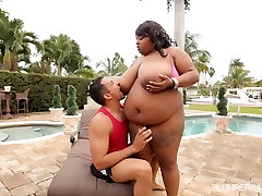 Huge Tit Ebony anglica heart porn sex Pink Kandi Fucked by Pool in Miami
