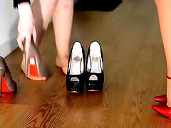 hard teaching how to be good hooker cute malaysia girl high heels 6&039;&039;