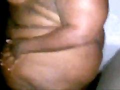 Chocolate BBW Pear Shakes Her GIGANTIC Cellulite Megadonk