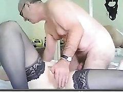 Raguotas tėvai sušikti ant drunk home wife - R20