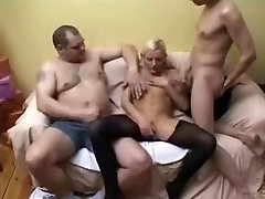 kinky son blackmailing hot mom tights sex