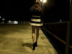 Nylon Pantyhose Tranny looking for Outdoor Adventure