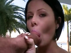 Babe enjoys sucking a big thick cock on brazzers xxx bobs vacation