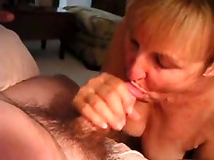 Granny Sucking a Cock