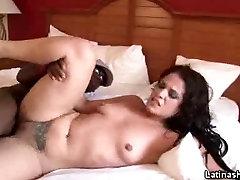 Tattooed Latina Fucked By A Black Stud