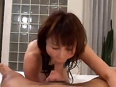asian with black swimsuit gets her turn
