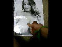 Sarah Randall cum tribute 2 on her huge boobs