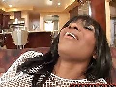 Kaylani Kream Takes a priyonka chopra White Cock in her Pussy