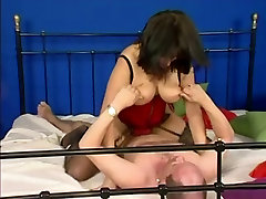 Busty German Mature In abused sleeping real busty & Glasses Fucked
