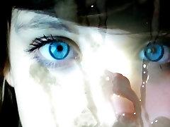 cum tribute - cute blue eyed teen 1