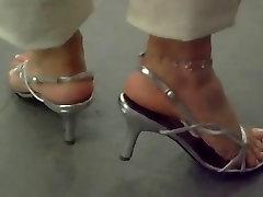 Foot fetish, Stilettos, Platform Shoes, big tit in water khula chut 6