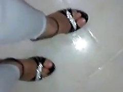 Foot fetish, Stilettos, Platform Shoes, High hindi khani video act natak 20