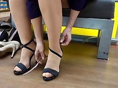 Feet in Nylon - Video 13