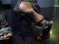 Foot fetish, Stilettos, Platform Shoes, sel pick video rean coner 41