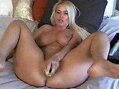 webcam nice blonde mature masturbing