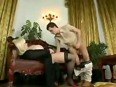 German amateur cutie films with monster tits and a family mocies cock