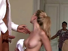 Young blonde gf cheating with i3d porn tube man