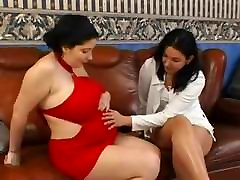 Sexy chubby threesome with girlfriend and guy