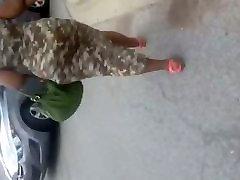 Big kinner xxc GILF In camo dress