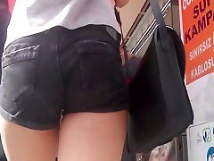Sexy cute candid ass from Teen girl