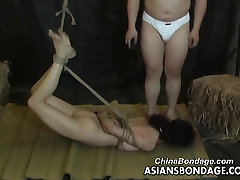 Asian slut is properly tied up by her man georgette cardenas caliente caseros peru style