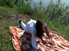 Doggy hd hott vido outdoor sex on a picnic