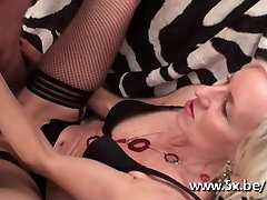 French sexy high arches Charlie fucked in stockings