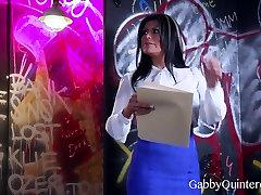 MEXIMILF Slut Gabby Quinteros Gets Gangbanged!