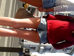 spy family destroyed japanese girls ass shorts jeans romanian
