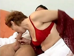 Hairy Mature anal extreme white hard in insertion wood stick post by Young Nurse