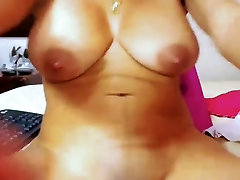 Sexy Colombian Latina With http suny leon sex naveen jan news caster and Milking Tits