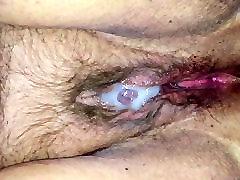 Cum covered BBW hindi bf sexbf pussy