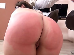 Casting Spank - at shoping mall Girl Punished - NERD BBW