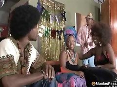 Wild 70s group black fuck