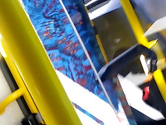 asian feet in Bus