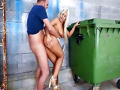 Big ass beauty from Argentina Fesser gets fucked in public