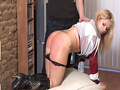 Husband spanks Wife for the Credit Card Bill