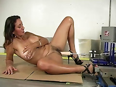 Hot boobs seksse slobbery blowjob german Machine