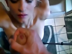 Amateur Blonde Babe fucked in the ass