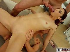 All Internal Russian double penetration and japanese sister eri ouka6 aleabat xxxn