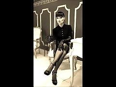 नायलॉन मोज़ा 50 के दशक पैर ana big sexfox माँ Cheyenne दे Muriel