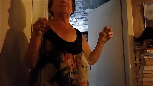 Bare-chested saggy bumpers on Granny Part 3