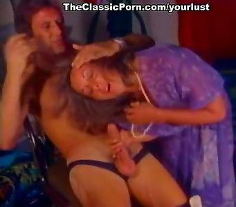 Boys Don Fernando and Jesse Adams enjoy romping super-fucking-hot chicks in retro hump vid