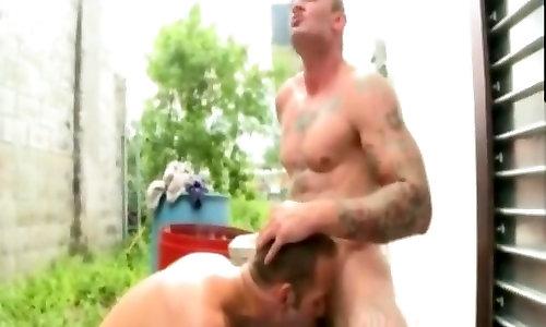 A bevy of gay outdoor fun